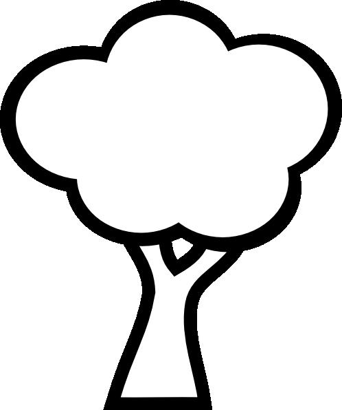 Black And White Tree clip artOak Tree Clip Art Black And White