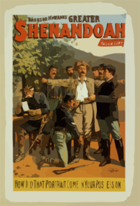 Bronson Howard S Greater Shenandoah Clip Art