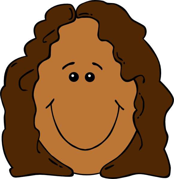 clipart little girl face - photo #12