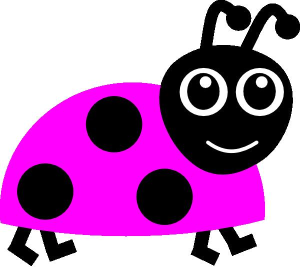 Pink ladybug - photo#28