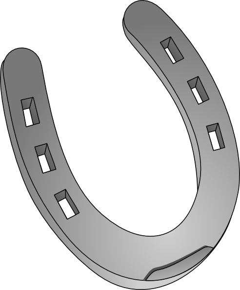 Horse Shoe Clip Art Horseshoe Clip Art at ...