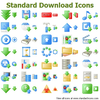 Standard Download Icons Image