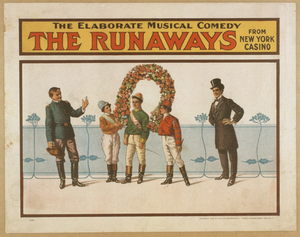 The Runaways The Elaborate Musical Comedy From New York Casino. Image