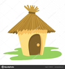 Straw House Clipart Image