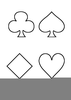 Card Suits Clipart Image