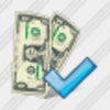 Icon Money Ok Image