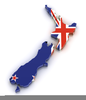 Free Clipart New Zealand Map Image