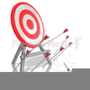 Arrow Missing Target Clipart Image