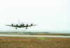 A P-3c Orion, Assigned To The Liberty Bells Of Patrol Squadron Sixty Six (vp-66), Leaves The Ground To Commence The First Of Many Missions Flown During Keflavik Tactical Exchange 2003 Image