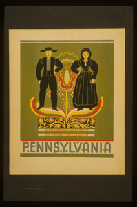 Pennsylvania Costumes And Handicrafts, The Pennsylvania Germans. Image