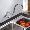 Chrome Finish Contemporary One Hole Single Handle Kitchen Faucet--faucetsuperdeal.com Image