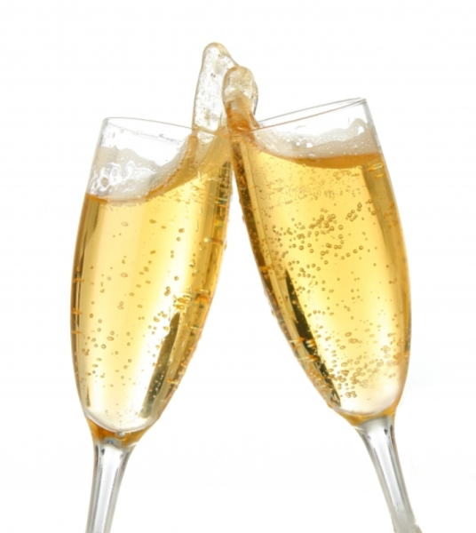 Champagne Toast | Free Images at Clker.com - vector clip art online ...