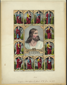 Jesus: And The Twelve Apostles / El Señor Y Sus Disipulos Image
