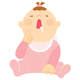 Baby Girl Vomit Free Images At Clker Com Vector Clip