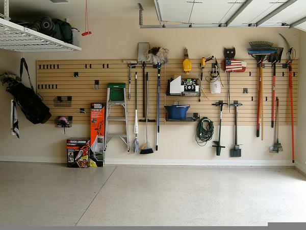 Slatwall Garage Storage Free Images At Clker Com