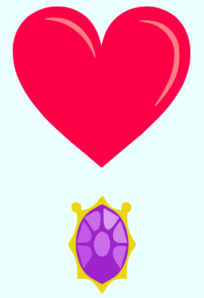 Heart And Necklace Cutie Mark Request By Namuna Clip Art