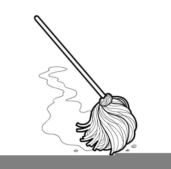 Mop Bucket Clipart Free Images At Clker Com Vector