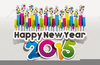 Free Christian Happy New Year Clipart Image