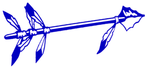 Royal Blue Spear Cut Image