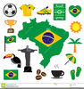 Brazil Map Clipart Free Image