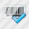 Icon Bar Code Ok Image
