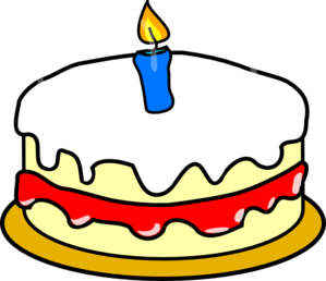 First Birthday Cake Clip Art