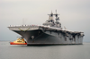 Uss Boxer (lhd 4) Returns To Her Homeport Of Naval Station San Diego.  Boxer Is Returning From Deployment In Support Of Operation Iraqi Freedom Image