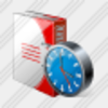 Icon Doc Folder Clock Image