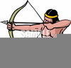 Bows And Arrows Clipart Image