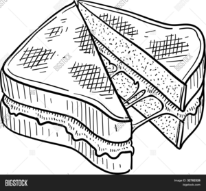 grilled cheese clipart free images at clker com vector clip art rh clker com Grilled Cheese Drawing Funny Grilled Cheese