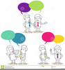 Difficult Conversations Clipart Image