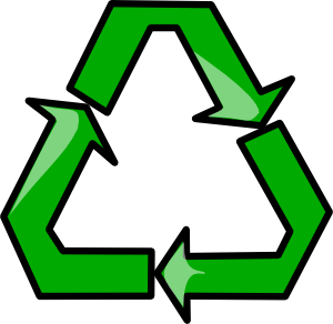Recycling Sign Symbol Clip Art