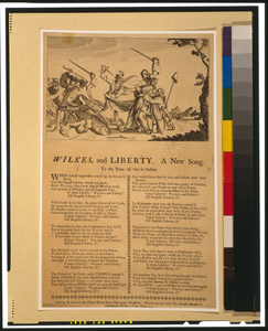 Wilkes, And Liberty--a New Song Image