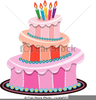 Birthday Candles Clipart Image
