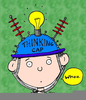 Free Clipart Thinking Cap Image