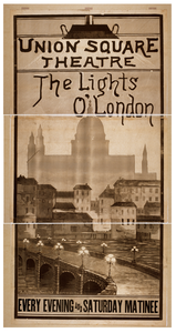 The Lights O  London Every Evening And Saturday Matinee. Image