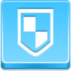 Free Blue Button Icons Antivirus Image