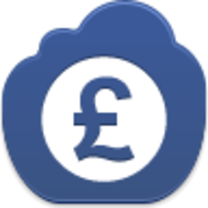 Pound Coin Icon Image