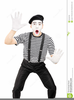 Mime Clipart Image