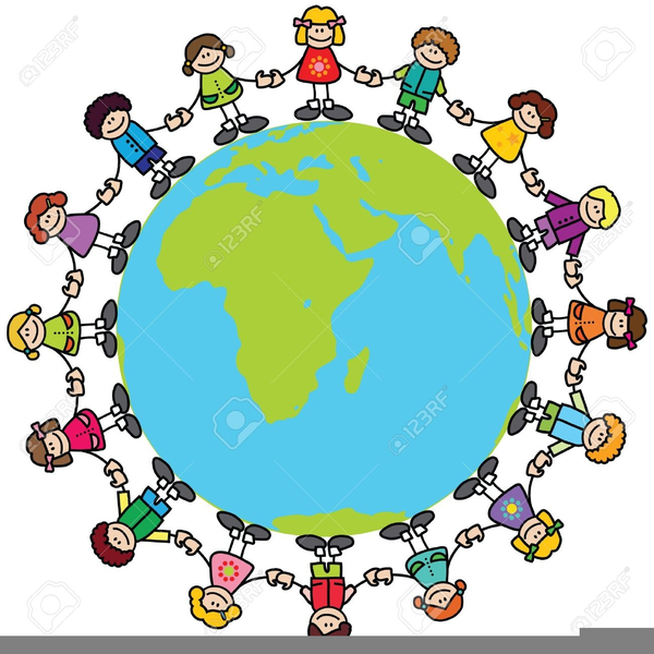 free clipart children of the world free images at clker com rh clker com Multicultural Clip Art Earth with People Holding Hands