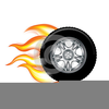 Cars And Tires Clipart Image