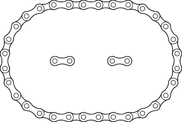 Bike Chain Clip Art at Clker.com - vector clip art online, royalty ...