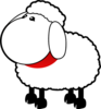 Sheep No Mouth Clip Art