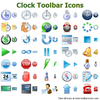 Clock Toolbar Icons Image