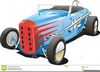 Dirt Track Race Car Clipart Image