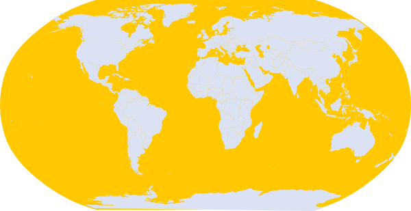 Yellow world map clip art at clker vector clip art online download this image as gumiabroncs Gallery