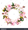 Apple Blossoms Clipart Image
