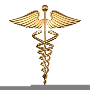 Army Medical Caduceus Clipart Image