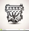 Car Engine Clipart Image