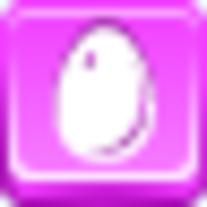 Free Pink Button Egg Image